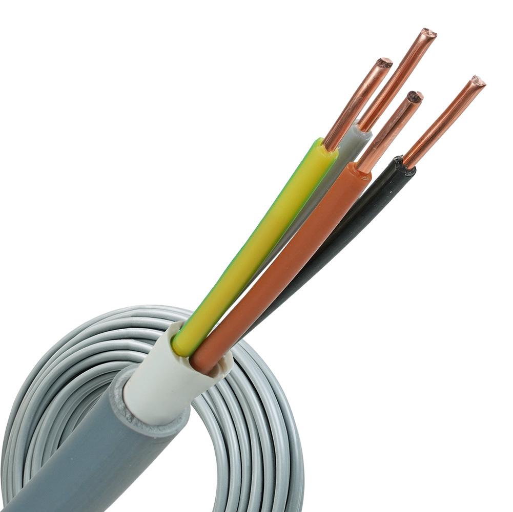 YMvK kabel 4x2,5 per rol 100 meter
