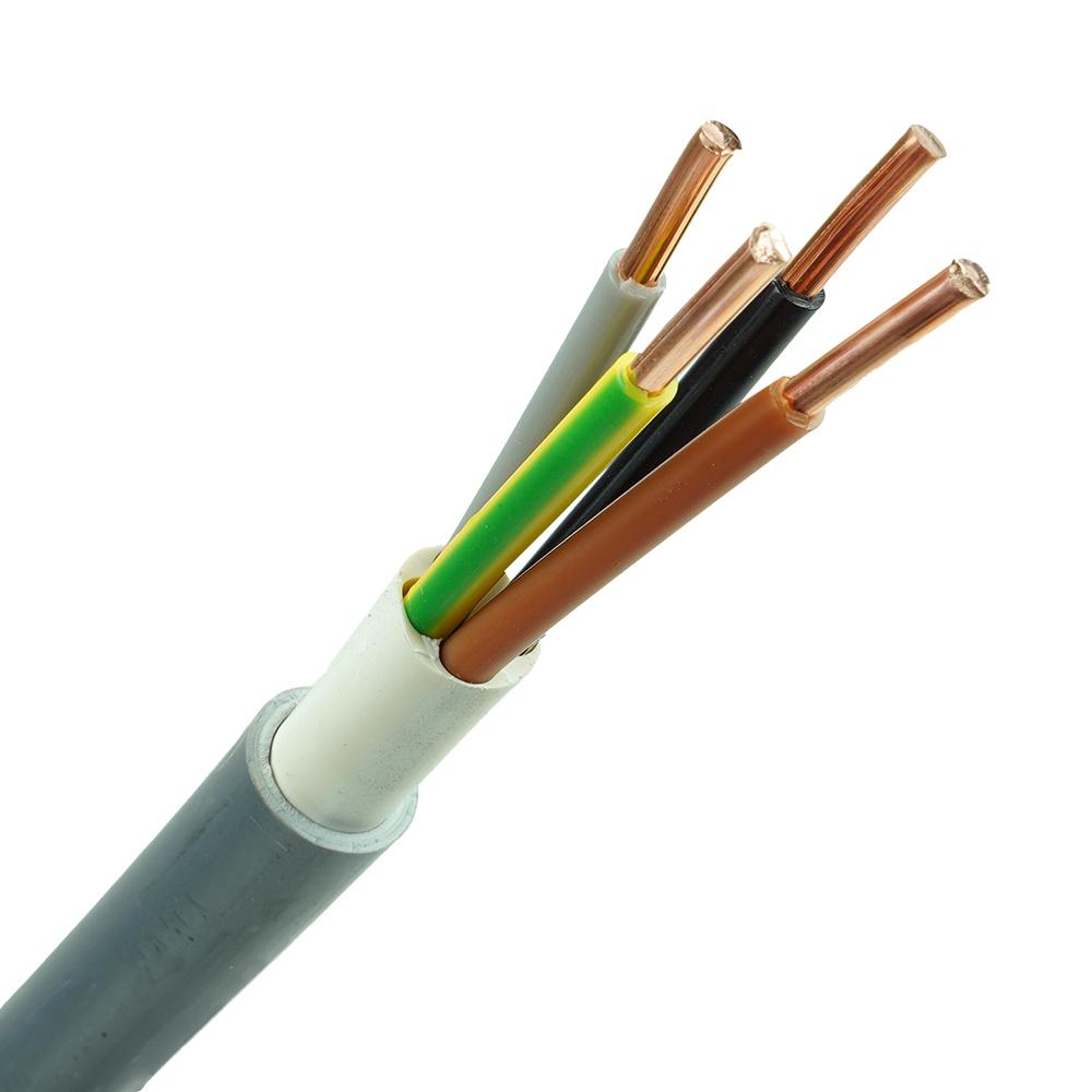 YMvK kabel 4x6 per meter
