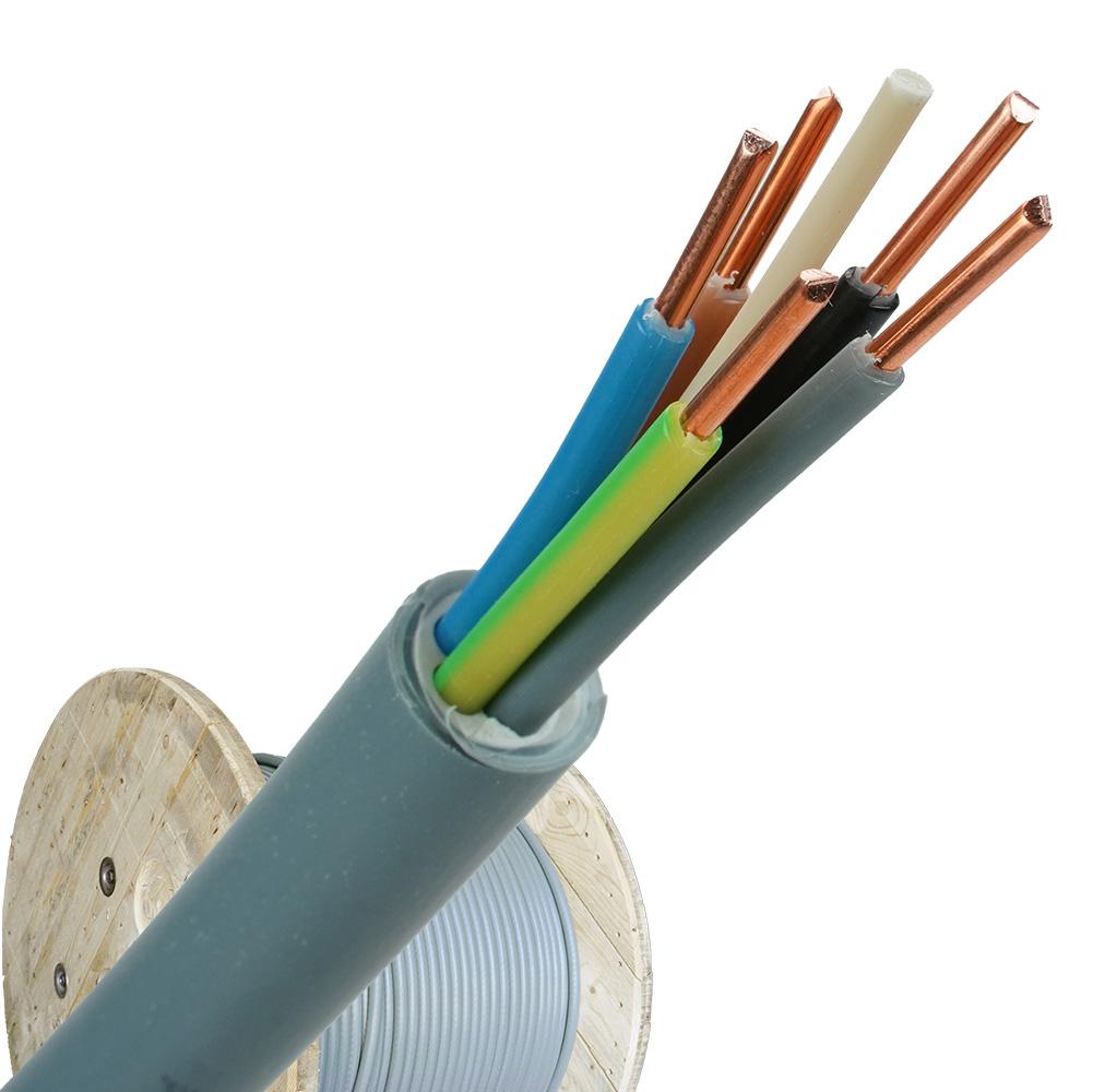 YMvK kabel 5x2,5 per haspel 500 meter