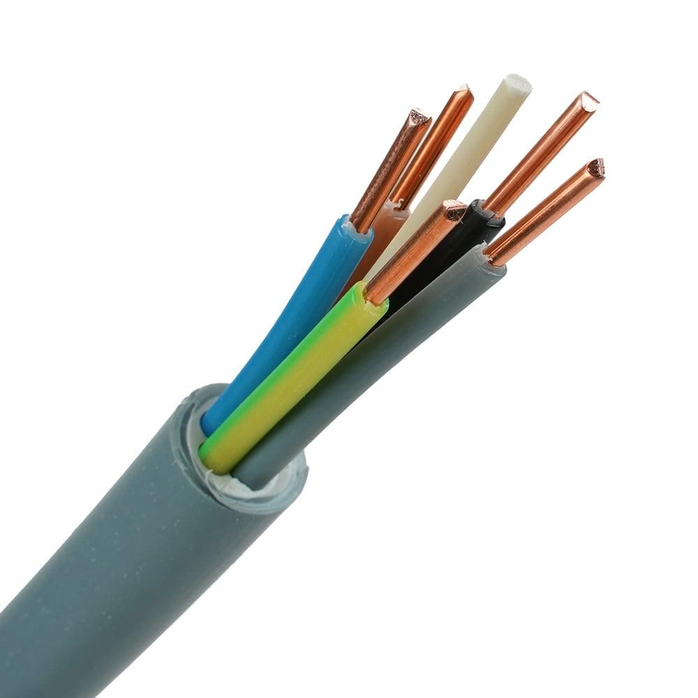 YMvK kabel 5x2,5 per meter