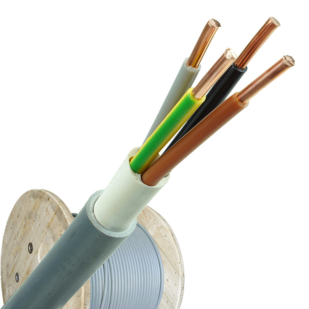 YMvK kabel 4x6 per haspel 500 meter