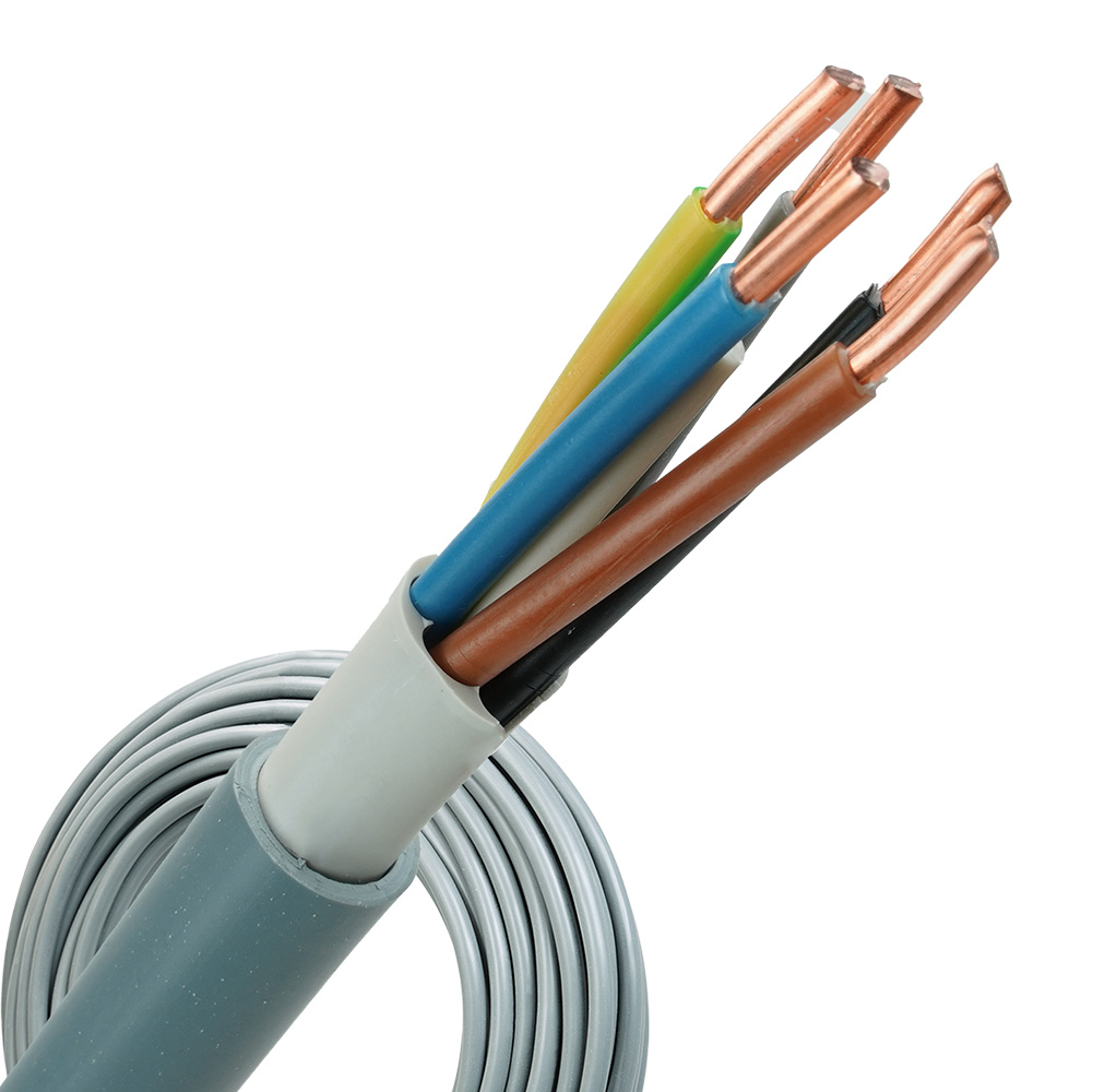 YMvK kabel 5x6 per rol 100 meter