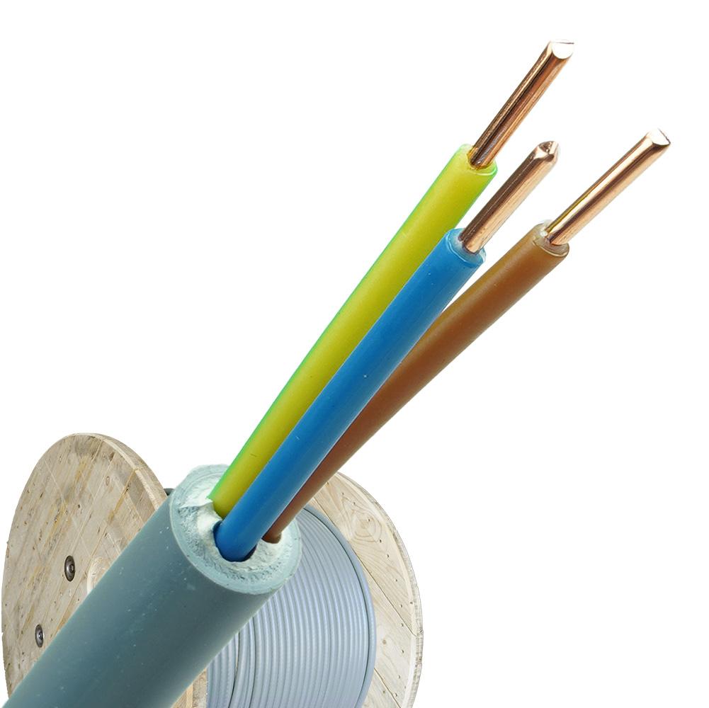 YMvK kabel 3x1,5 per haspel 500 meter