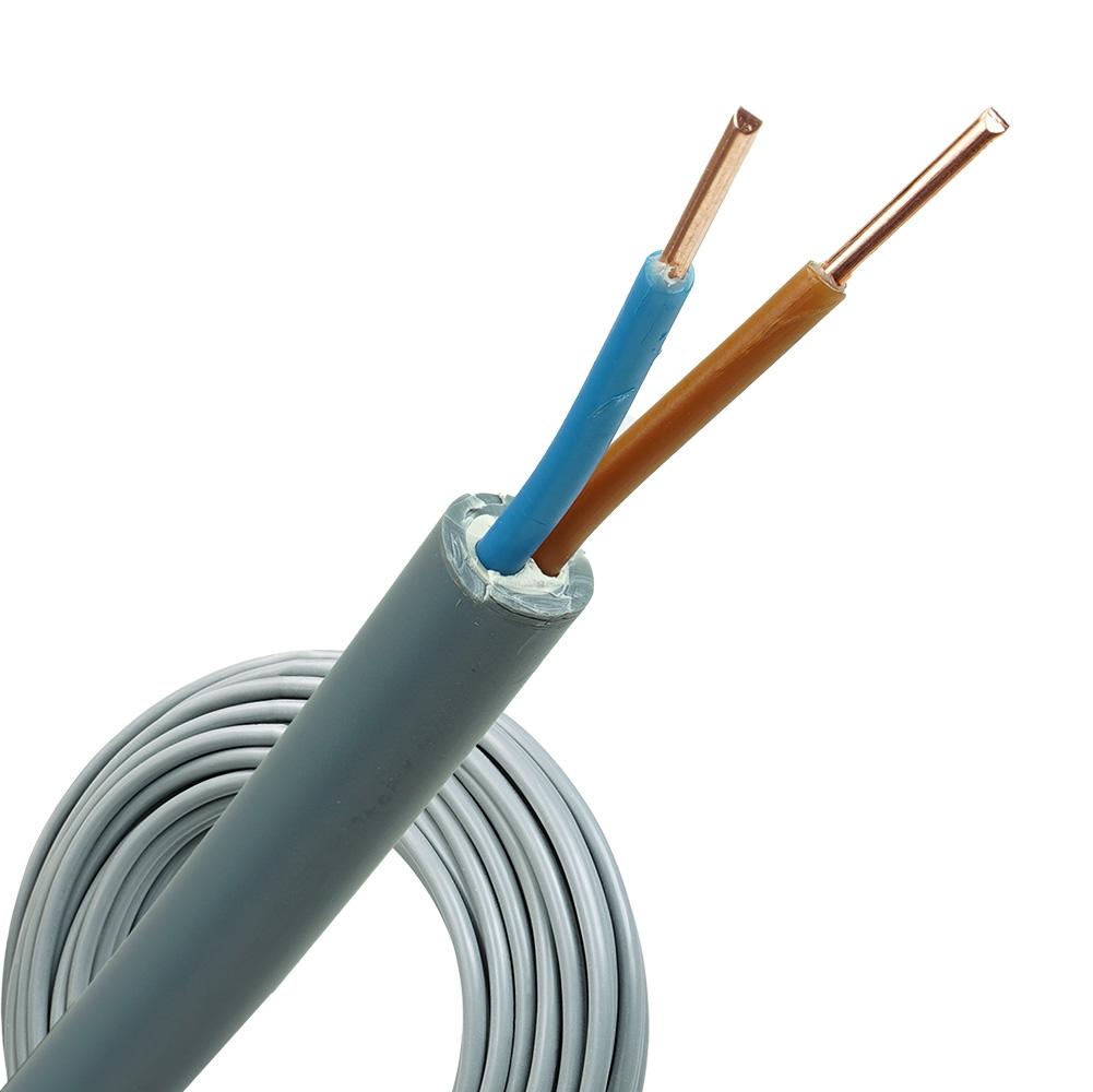 YMvK kabel 2X1,5 per rol 100 meter