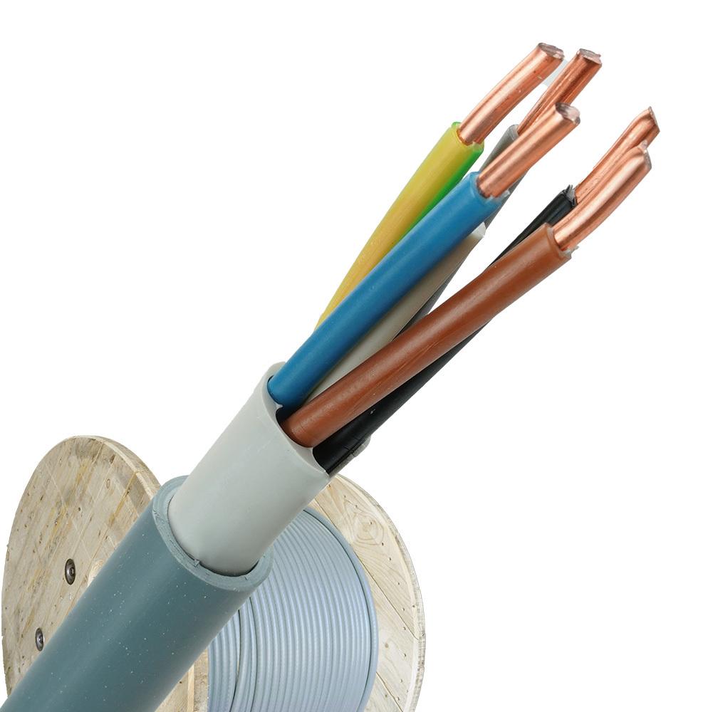 YMvK kabel 5x1,5 per haspel 500 meter