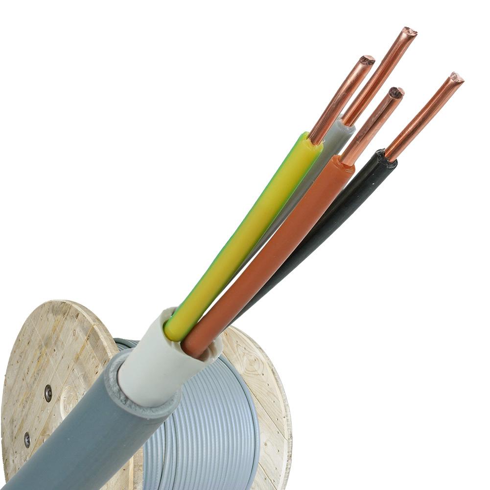YMvK kabel 4x2,5 per haspel 500 meter