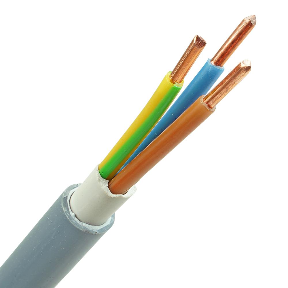 YMvK kabel 3x4 per meter