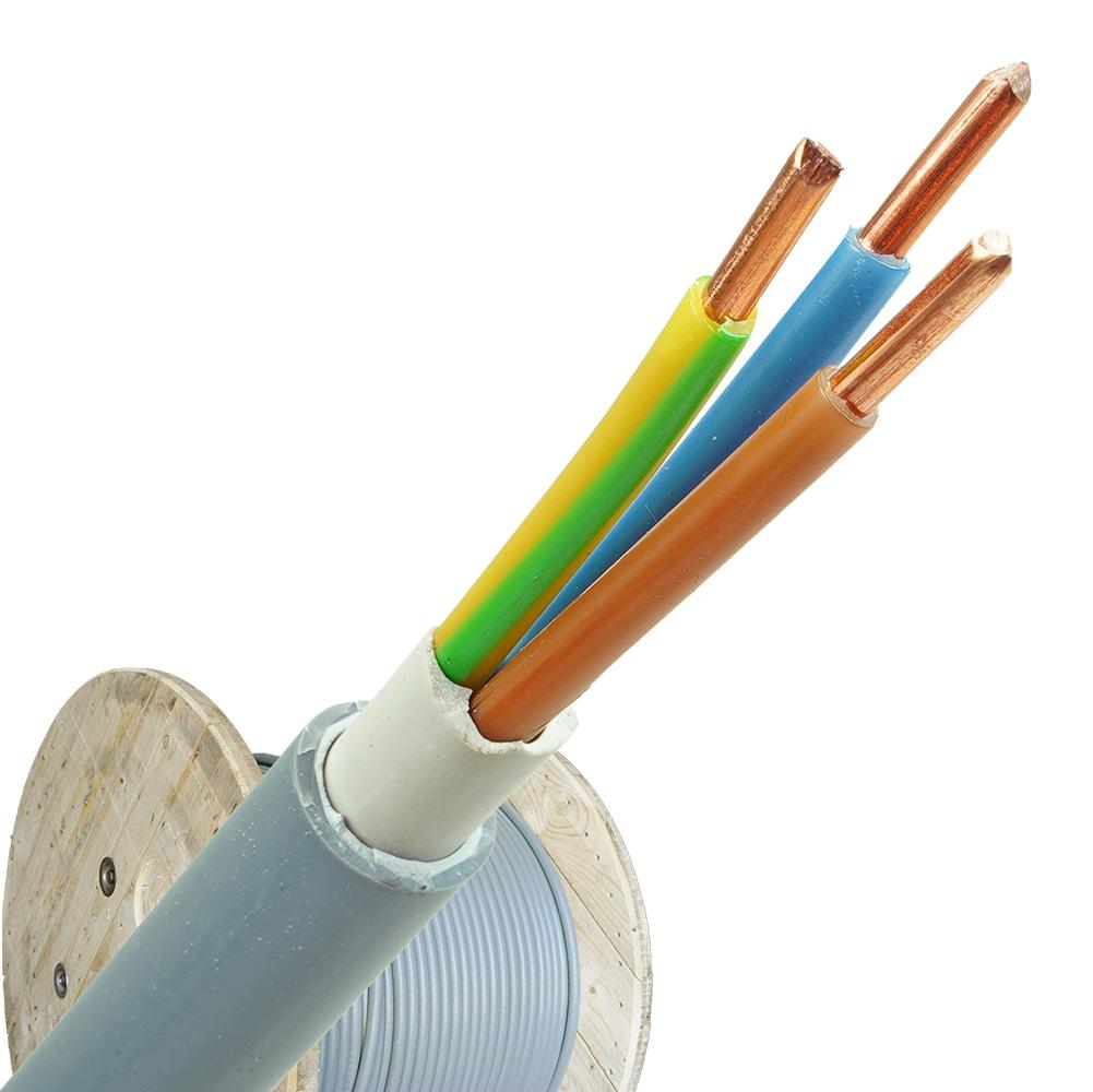 YMvK kabel 3x4 per haspel 500 meter