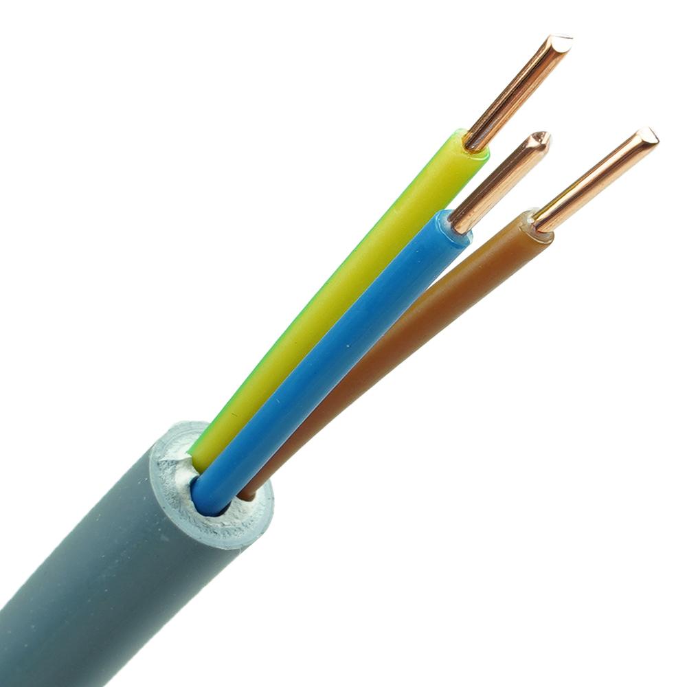 YMvK kabel 3x1,5 per meter