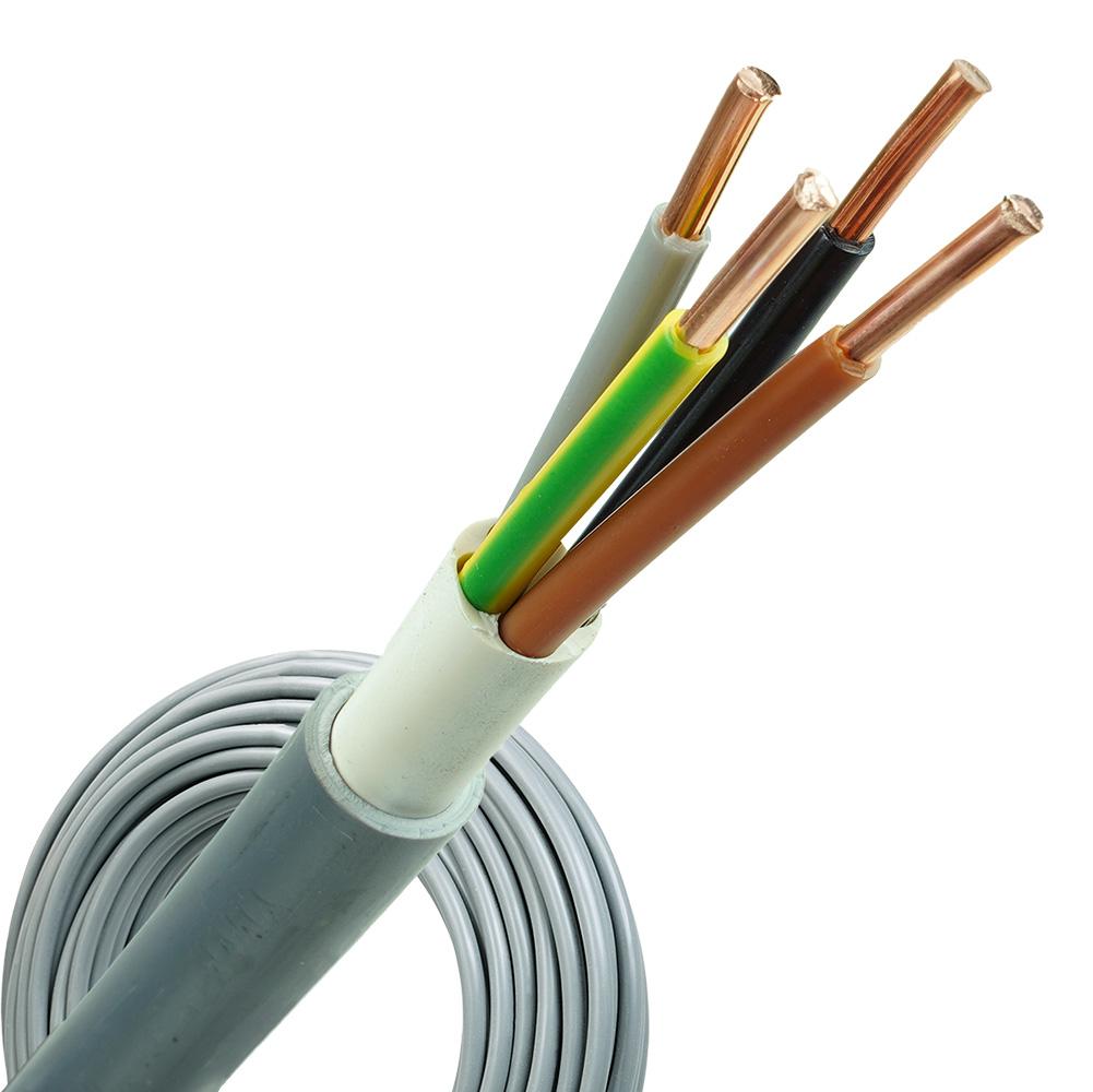 YMvK kabel 4x6 per rol 100 meter