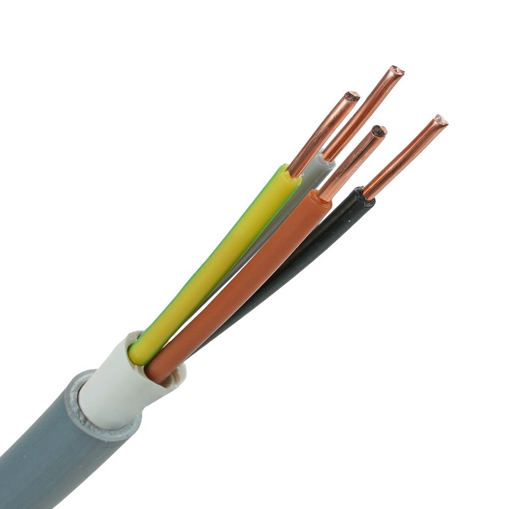 YMvK kabel 4x2,5 per meter