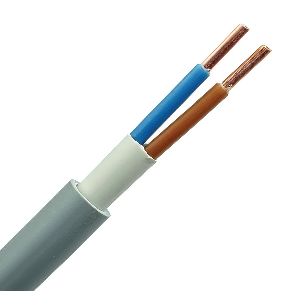 YMvK kabel 2x4 per meter