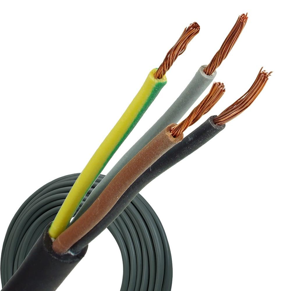 Neopreen kabel H07RNF 4x1 rol 100 meter
