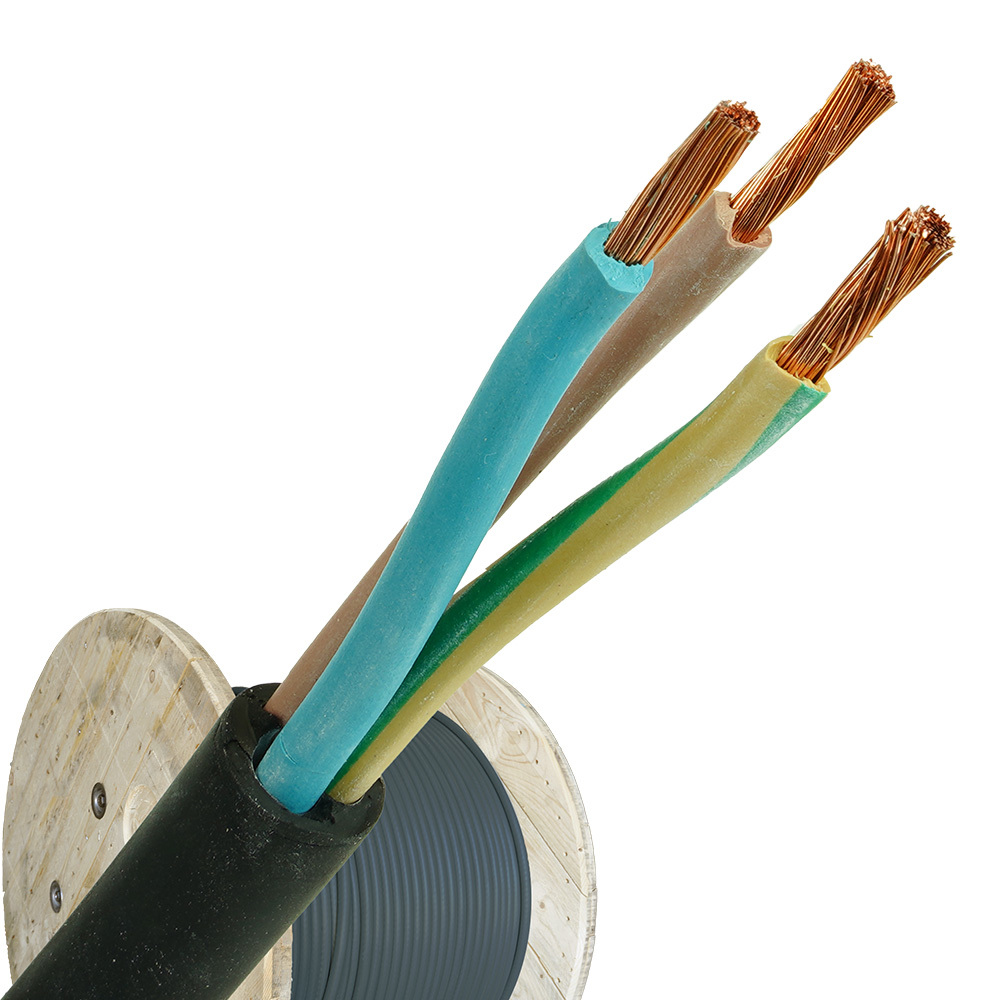 Neopreen kabel H07RNF 3x10 per haspel 500 meter
