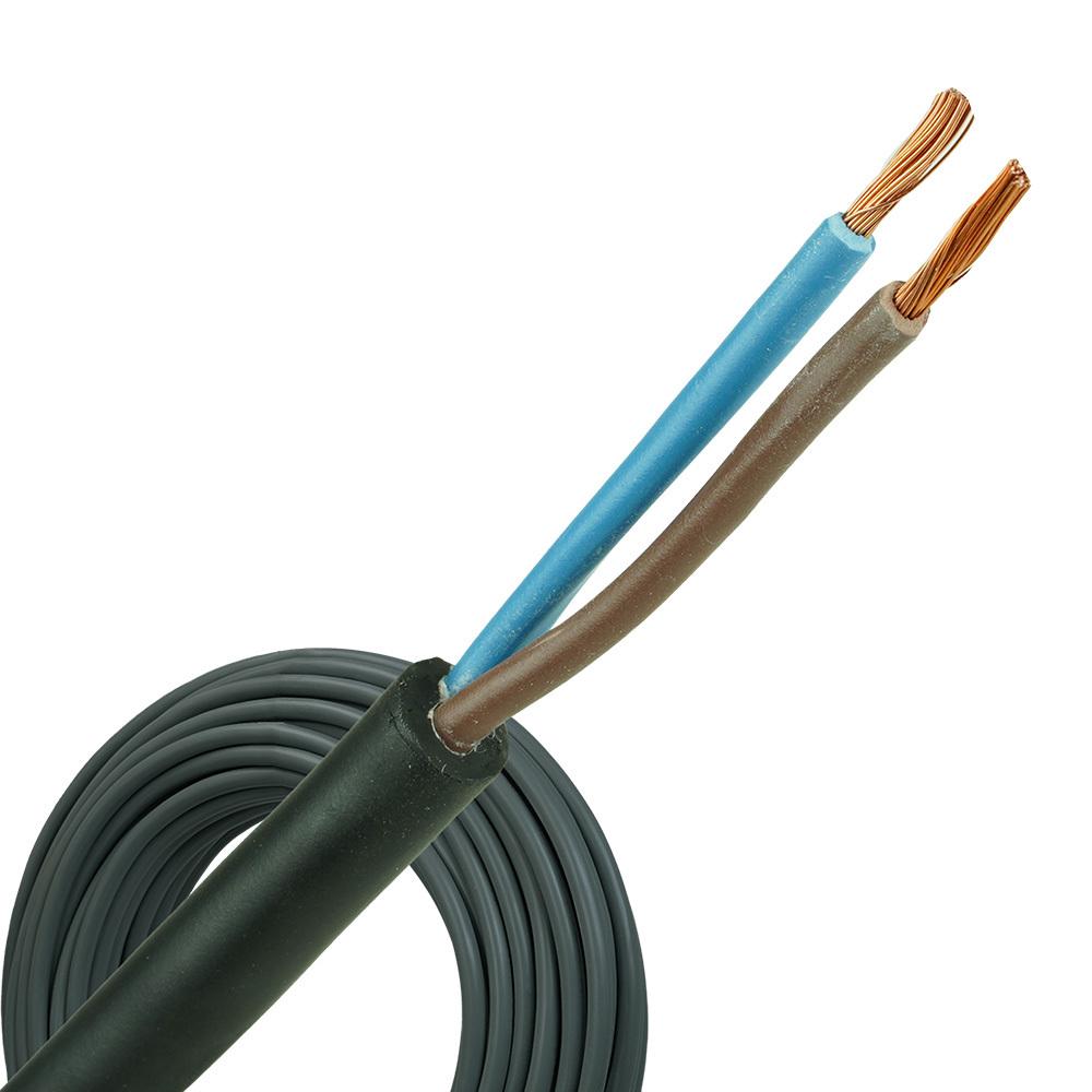 Neopreen kabel H07RNF 2x6 per rol 100 meter