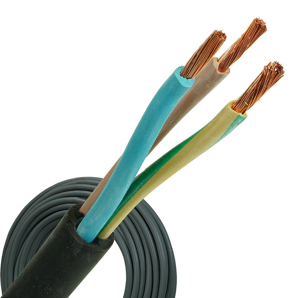 Neopreen kabel H07RNF 3x10 per rol 100 meter