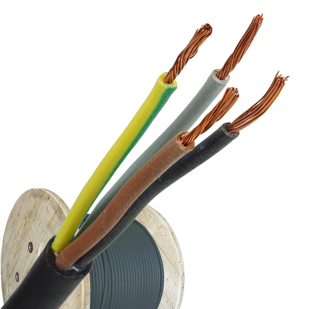 Neopreen kabel H07RNF 4x1 haspel 500 meter