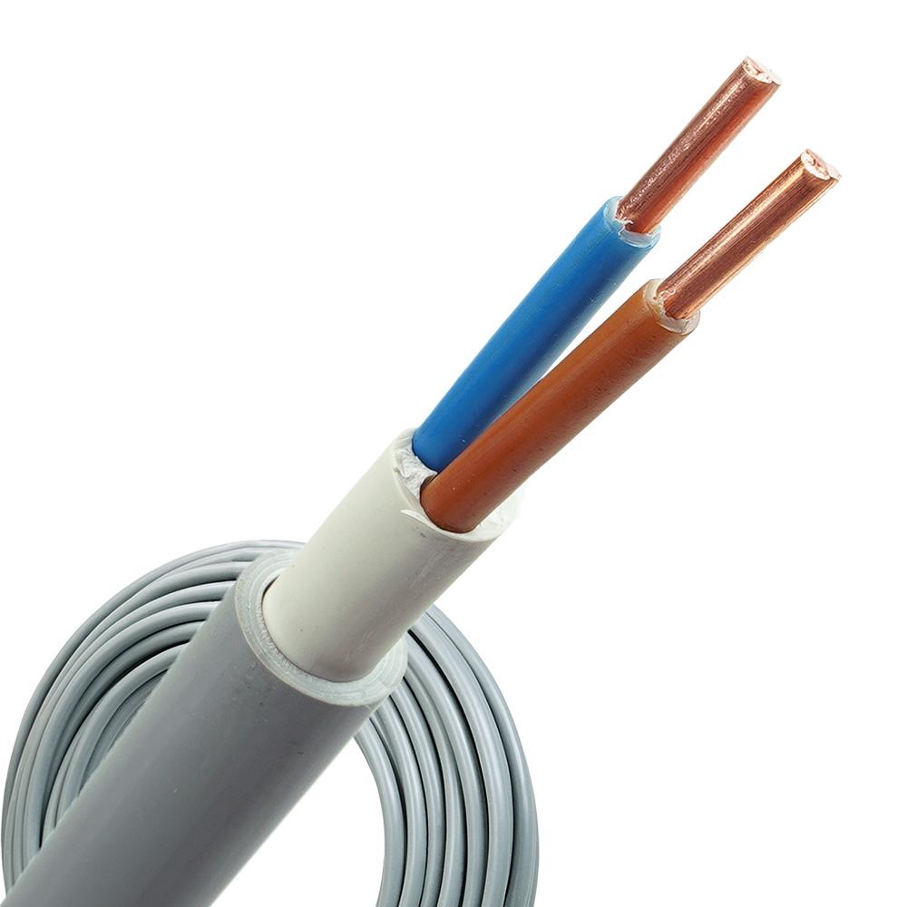 YMvK kabel 2x6 rol 100 meter