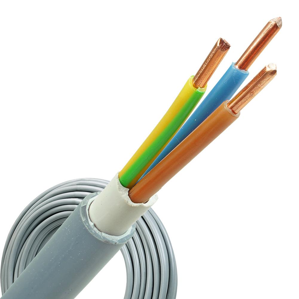 YMvK kabel 3x6 per rol 100 meter