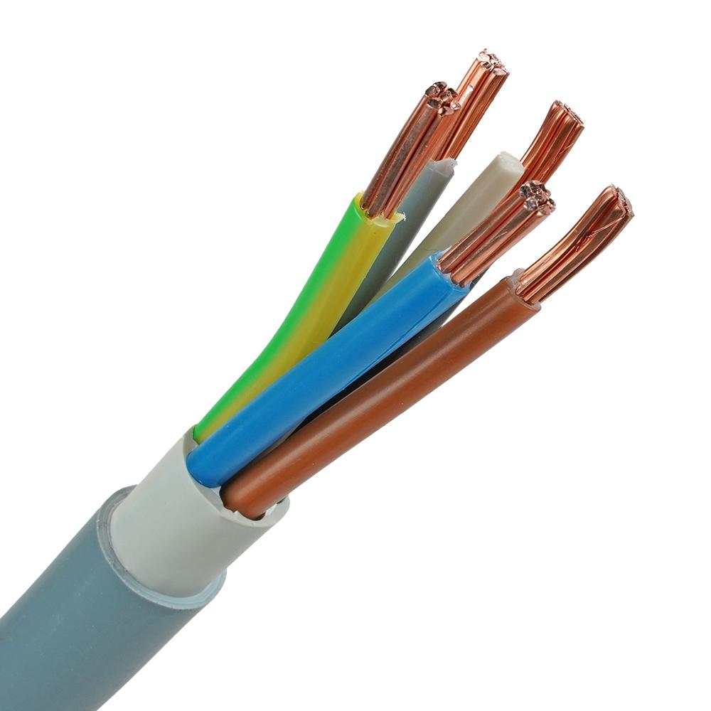 YMvK kabel 5x10 RM per meter