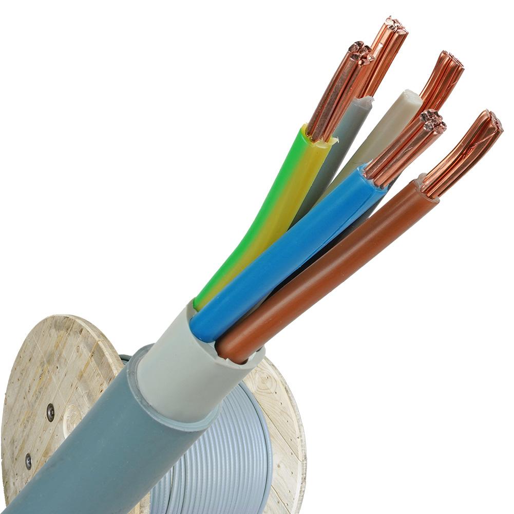 YMvK kabel 5x10 RM per haspel 500 meter