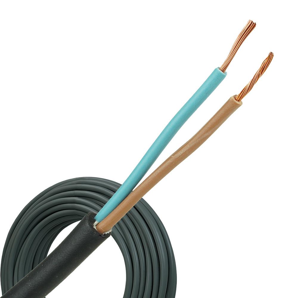 Neopreen kabel H07RNF 2x1mm rol 100 meter