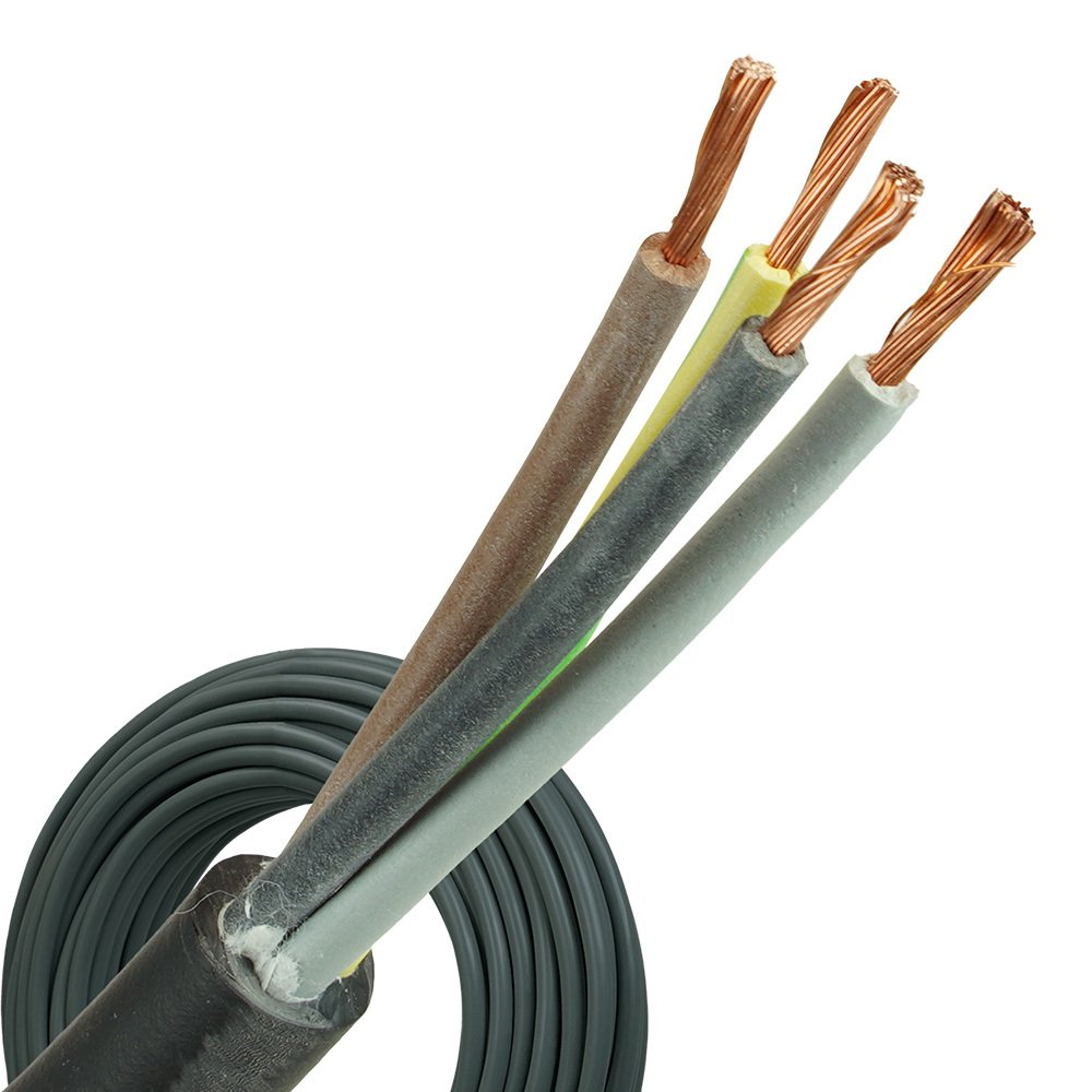 Neopreen kabel H07RNF 4x2,5mm rol 100 meter