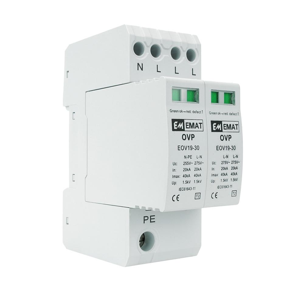 EMAT overspanningsbeveiliging 3-polig+nul (E106436)