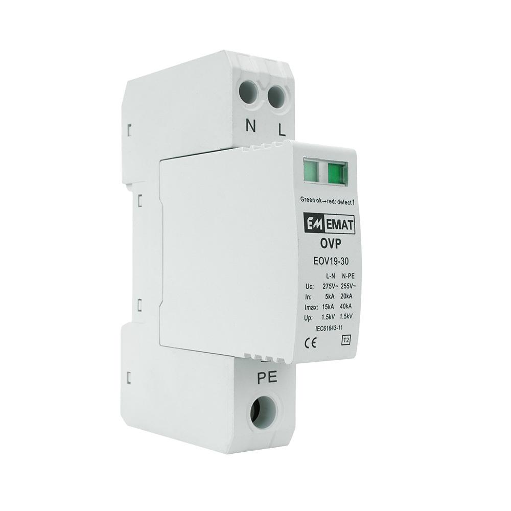 EMAT overspanningsbeveiliging 1-polig+nul (E106435)