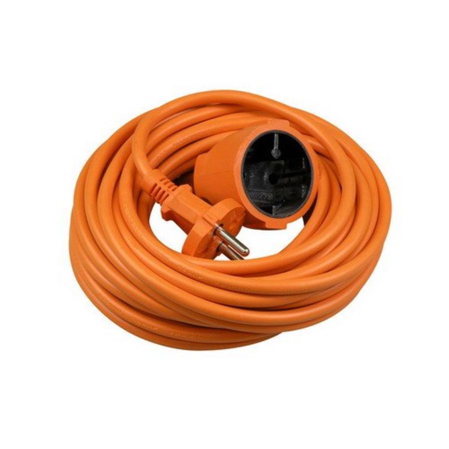 VB Extend verlengsnoer tuinkabel zonder randaarde 2x1 mm² 20 meter - oranje (40084)