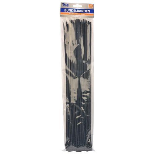 Bundel bandje zwart 4,8x450mm per 100 stuks