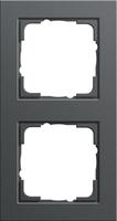 Kopp HK07 afdekraam 2-voudig - antraciet