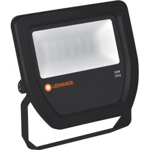 LEDVANCE FLOODLIGHT 20W 3000K - zwart