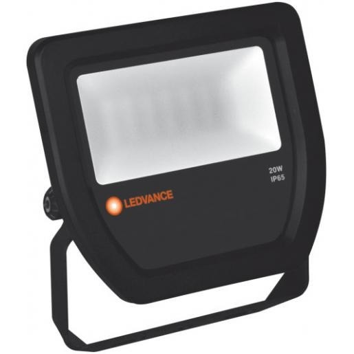 LEDVANCE floodlight 20W 4000K IP65 - zwart (4058075097483)