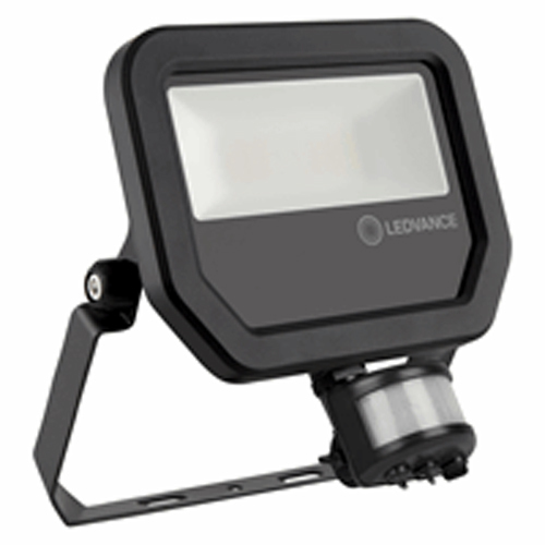 LEDVANCE ledvance schijnwerper met sensor 20W warmwit - zwart