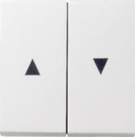 Gira bedieningswip met pijlsymbolen - zuiver wit (029403)