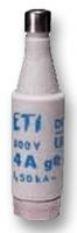 ETI fleszekering D1 6A traag