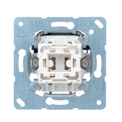 JUNG sokkel impulsdrukker 1P met maakcontact (531EU)