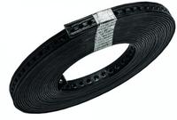 DEHA metalen montageband 14x3 mm gat 5,2 mm rol 10 meter