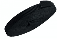 DEHA kunststof montageband 15x1,3 mm 10 meter - zwart