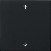 Gira S3000 bedieningsknop met pijltjes - zwart mat (5361005)