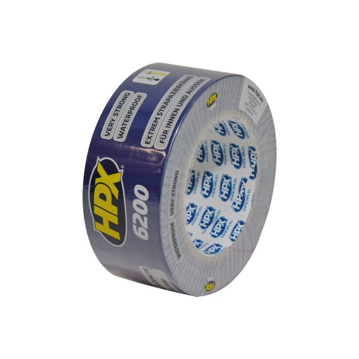 HPX Duct Tape Pantser 50mmx25m Donkerblauw