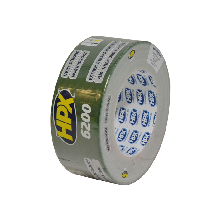 HPX duct tape 50mm x 25 meter groen (CG5025)