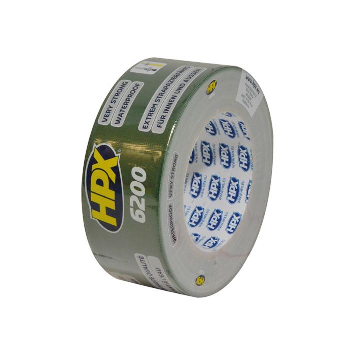 HPX Duct Tape Pantser 50mmx25m Groen