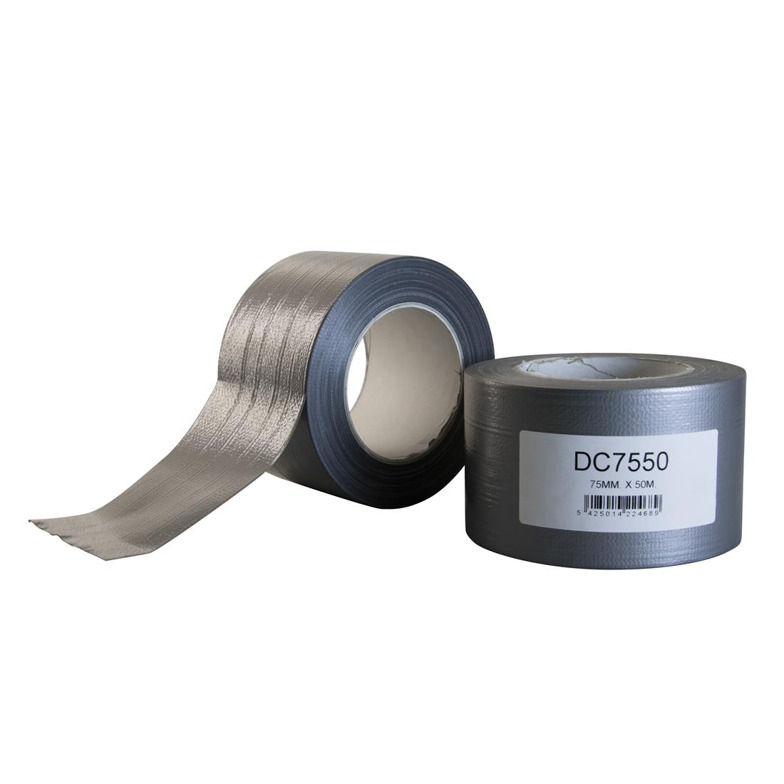 HPX duct tape 75mm x 50 meter zilver (DC7550)