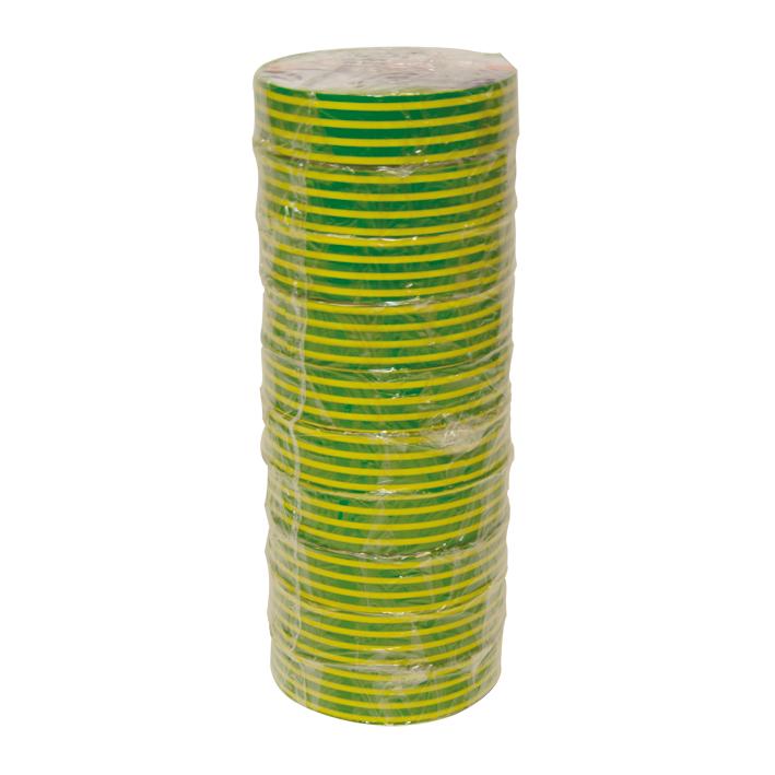 HPX isolatietape 19mm x 20 meter geel/groen (IE1920)