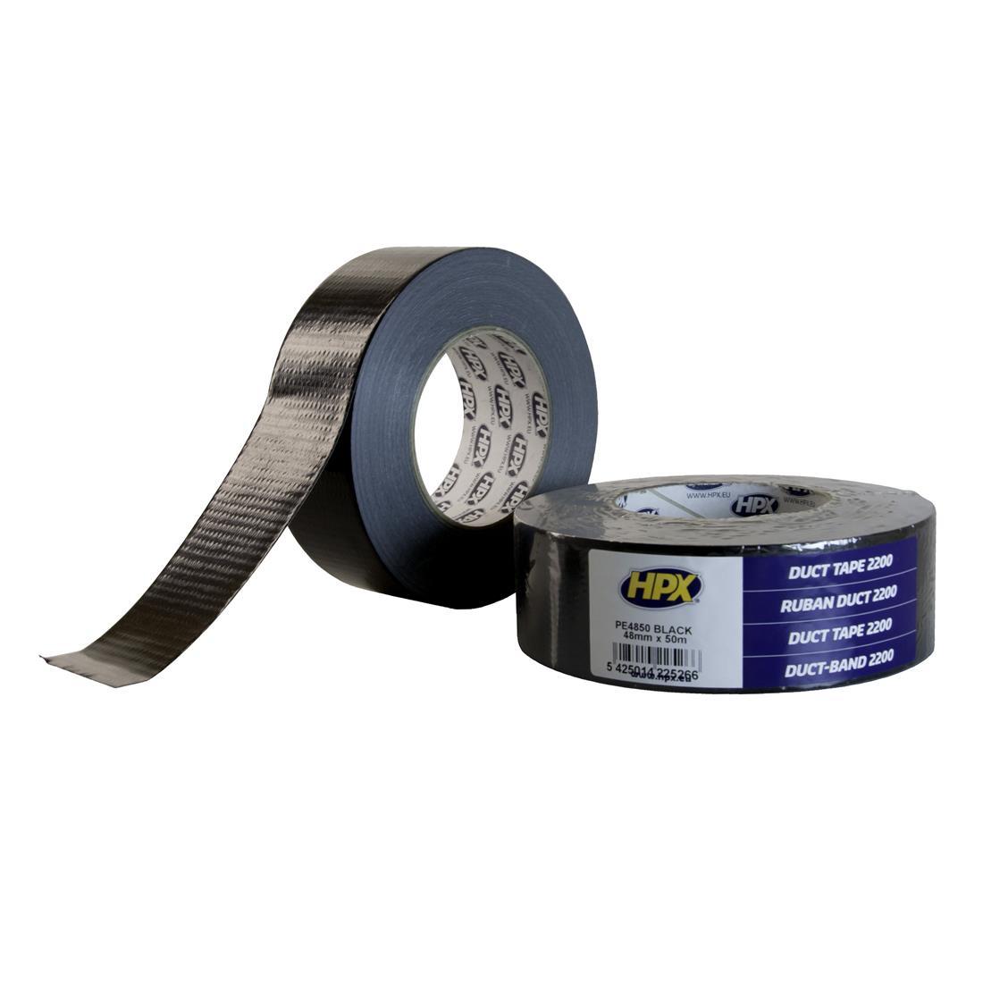 HPX Duct Tape Power 48mmx50m Zwart