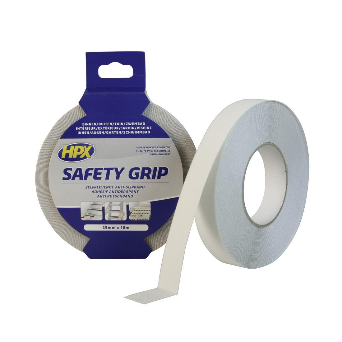HPX grip tape 25mm x 18 meter semitransparant (SC2518)