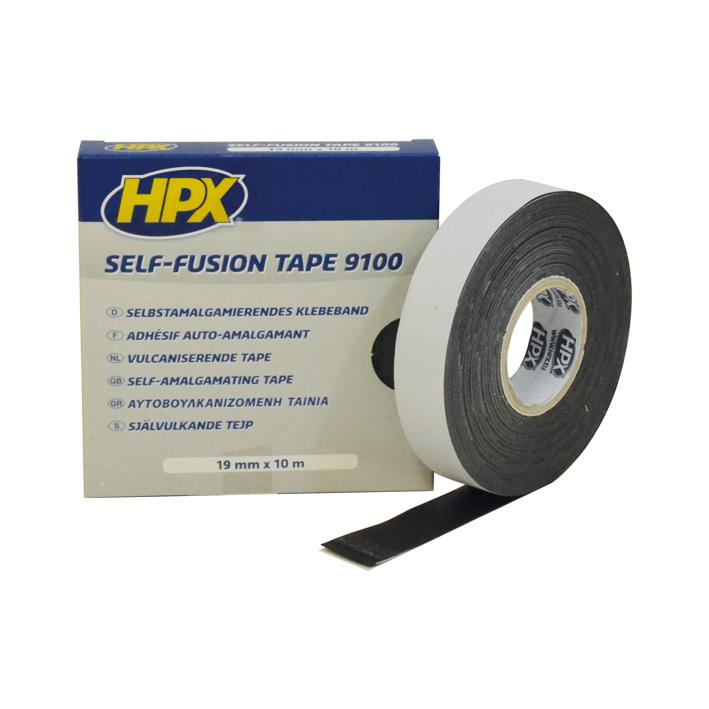 HPX vulkaniserende tape 19mm x 10 meter zwart (SF1910)