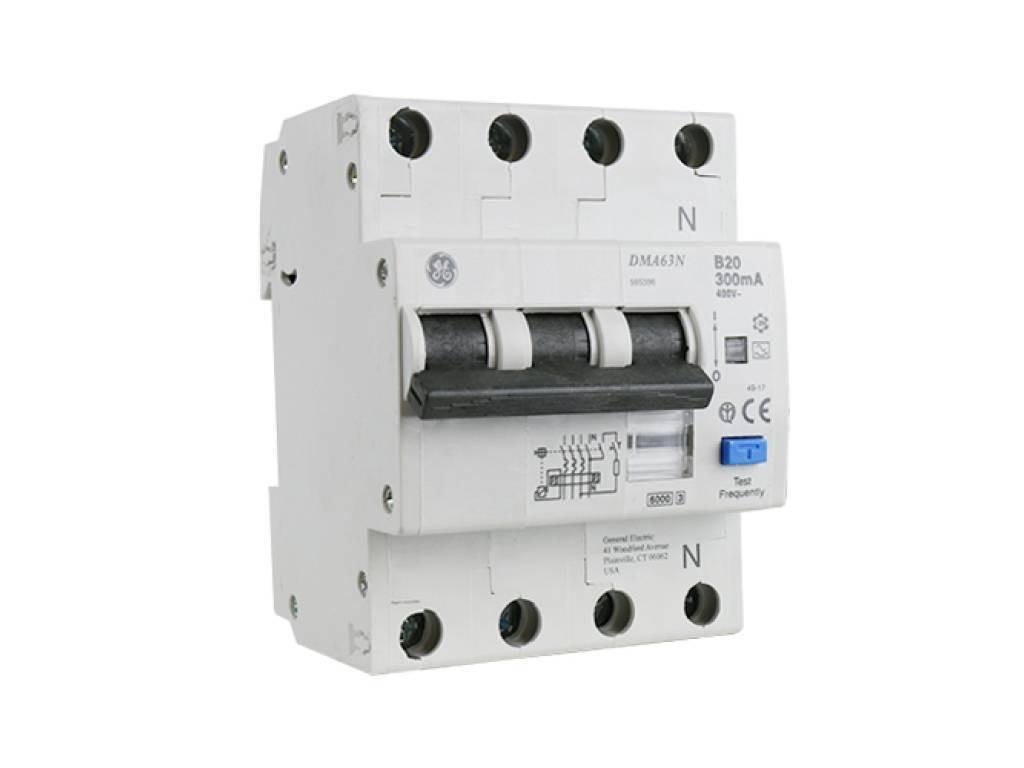 AEG aardlekautomaat 3-polig+nul 20A B-karakteristiek 300mA (565.396)